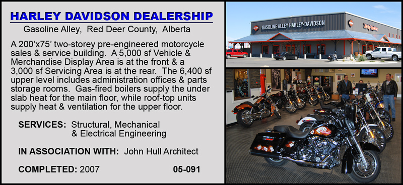 Harley Davidson Red Deer >> Cognidyn Engineering Design Projects Auto Dealers
